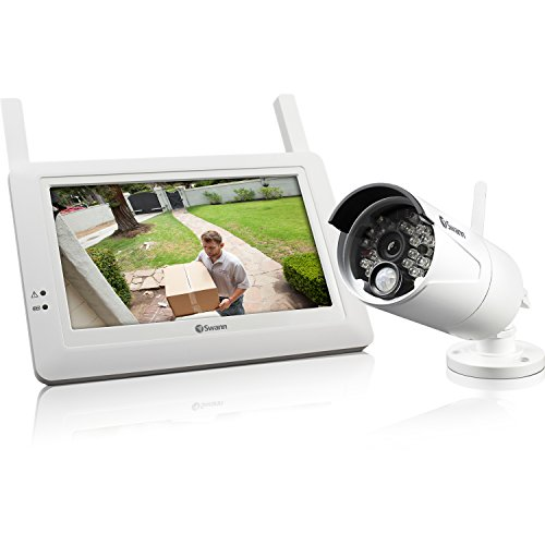 Swann SWADW-410KIT-US ADW-410 Digital Wireless Security System Monitor...