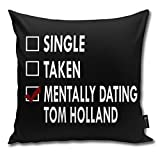 QMS CONTRACTING LIMITED Throw Pillow Cover Dating Tom