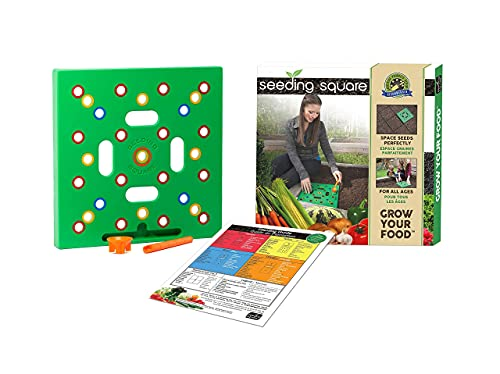 Square Foot Gardening Template