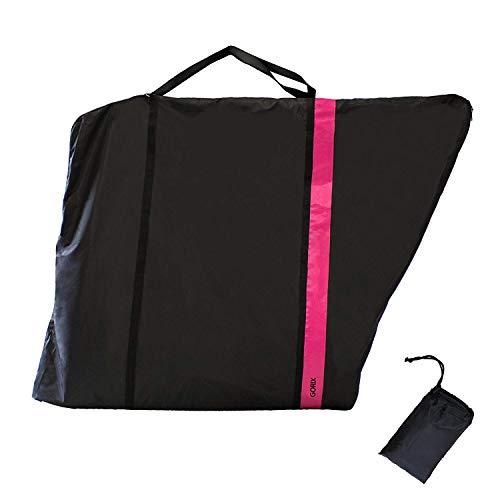 GORIX Bike Travel Bag Case Carry Transport Storage Luggage Road Mountain Bicycle (GX-Ca2) (Pink)
