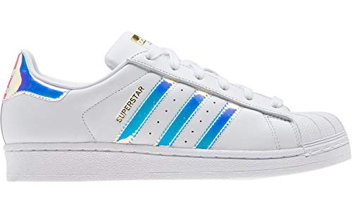 Chaussures Femme Adidas Superstar, blanc/noir/or mÃtalisÃ, 37 1/3 EU
