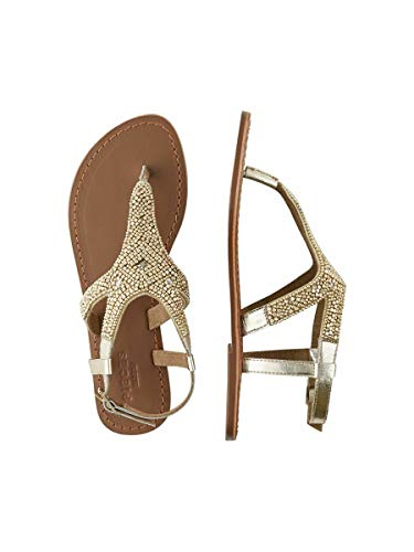 PIECES Pscamma Leather Sandal, Sandalia Mujer