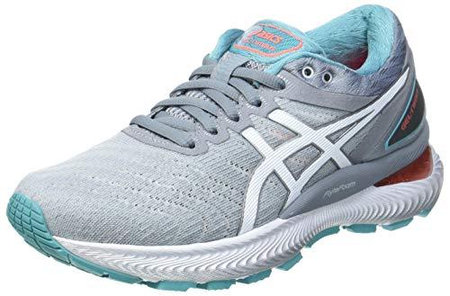 ASICS Gel-Nimbus 22, Zapatillas de Running Mujer, Sheet Rock White, 43.5 EU