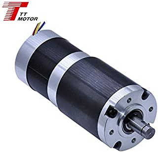 TT Motor 200 kg.cm max 400 kg.cm torque DC BLDC 56mm Brushless Gear Motor Speed Reducer Reduction Geared with 60mm Planetary Gearbox GMP60-TEC56100