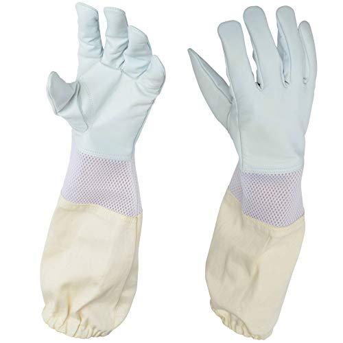 Bienen-Handschuhe, Imker-Handschuhe, 1 Paar, Größe L