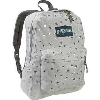 JanSport T501 Superbreak Backpack - White/Silver Stars (B0018JIZ0E) | Amazon price tracker / tracking, Amazon price history charts, Amazon price watches, Amazon price drop alerts