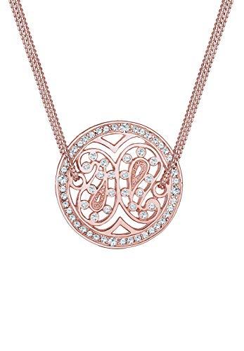 Elli Premium Collar con Colgante Mujer Plata - 0106790817_45