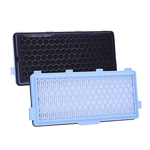 Wessper Juego de 2 filtros para aspiradora Miele SF-HA 50 con carbón...