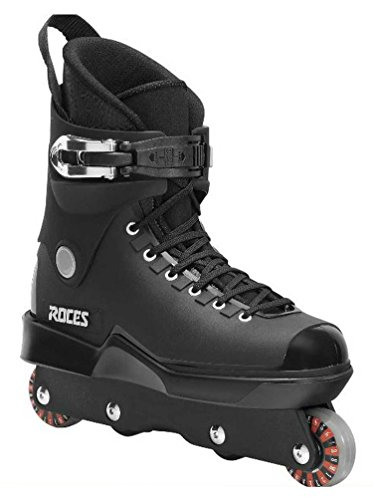 Roces Mens M12 UFS Aggressive Street Italian Inline Skates Black 101183 00001-7