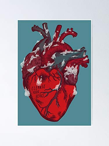 AZSTEEL Cleanse Your Heart Poster