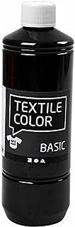 comprar comparacion Art-Manufacture-Design - Pintura textil (500 ml), color negro