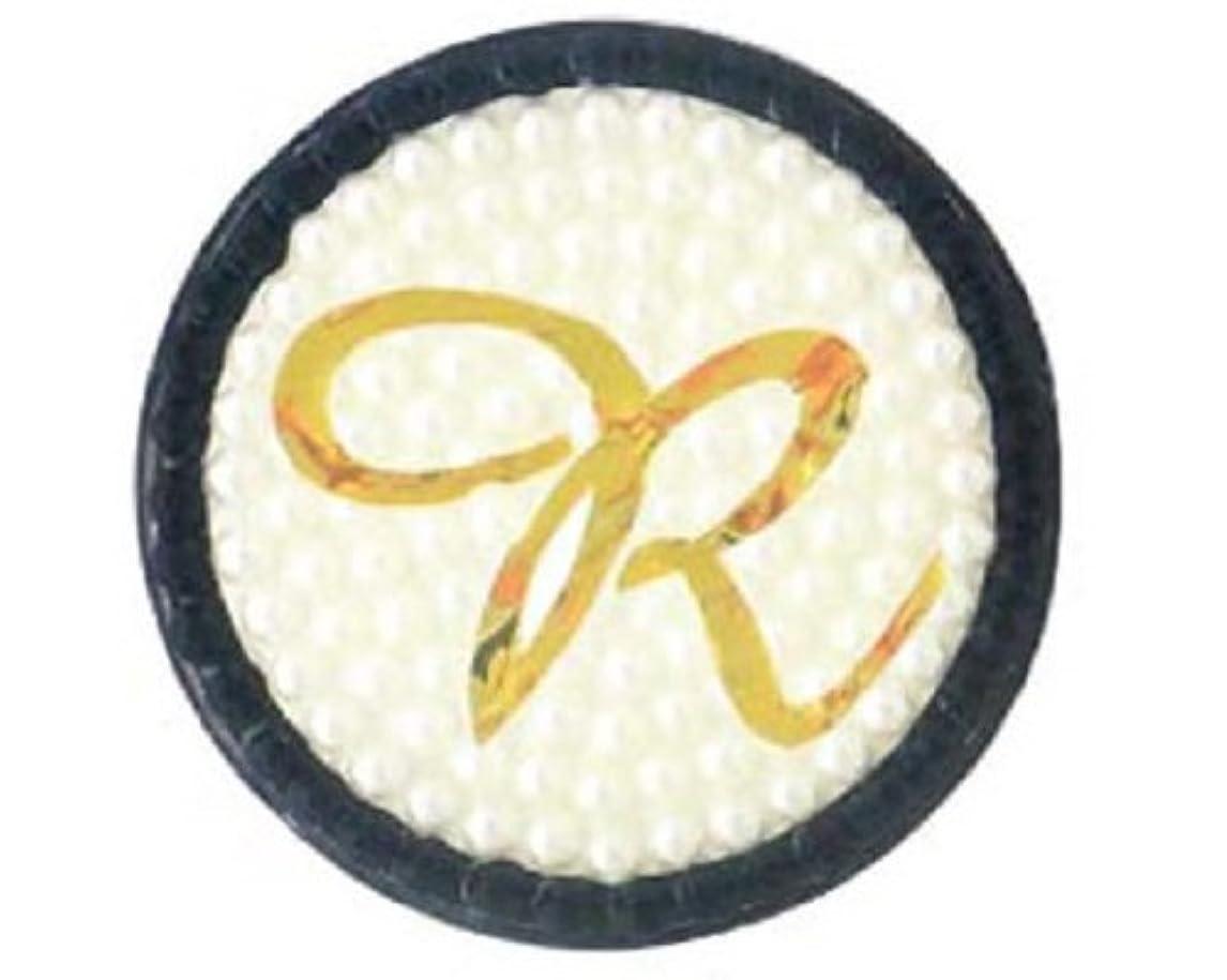 ピアインデックス主人ARNY イニシャル 缶バッジミラー R