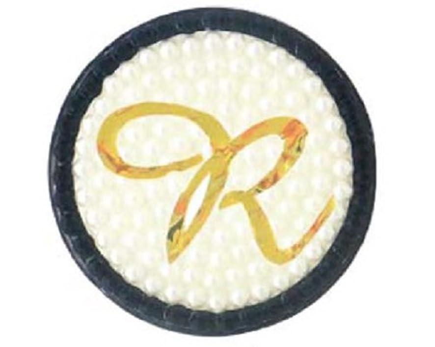 かなり干渉する微弱ARNY イニシャル 缶バッジミラー R