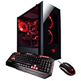 iBUYPOWER Gaming Computer Desktop PC AM006A AMD FX-8320 8-Core 3.5Ghz (4.0Ghz), NVIDIA Geforce GTX 1050 Ti 4GB, 16GB DDR3 RAM, 2TB 7200RPM HDD, Wi-Fi USB Adapter, Win 10 Home, Black