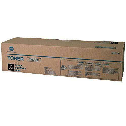 Price comparison product image Konica Minolta A0D7132 ( Konica Minolta TN213K ) Laser Toner Cartridge,  Works for bizhub C203,  bizhub C253