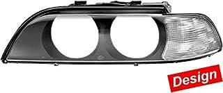 HELLA 9ES 152 179-801 Blinkleuchtensatz Design Umrüstung Anschlussscheiben für Hauptscheinwerfer Blinklicht, Lichtscheibe glasklar, links/rechts, 2er Set preisvergleich preisvergleich bei bike-lab.eu