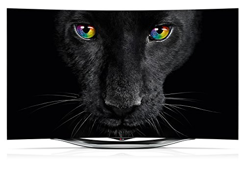 LG 55EC940V 139 cm (55 Zoll) Curved OLED Fernseher (Full HD, Triple Tuner, 3D, Smart TV) silber