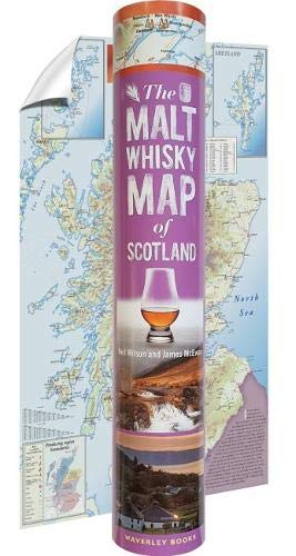 Malt Whisky Map of Scotland: In a Tube