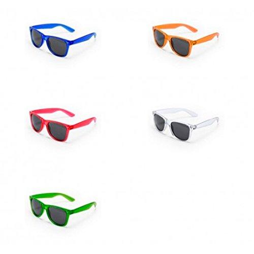 DISOK Lote de 25 Gafas de Sol Protección UV400 - Gafas de Sol Baratas Online, Fiestas, Promociones, Despedidas Soltero, Promociones Unisex, Hombres, Mujeres