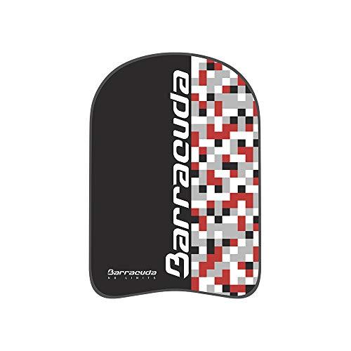 Barracuda Aquapop Mosaic Kickboard – Lernhilfe beim Schwimmen, hochwertiges EVA, Schwimmring, für Erwachsene (rot/silber)