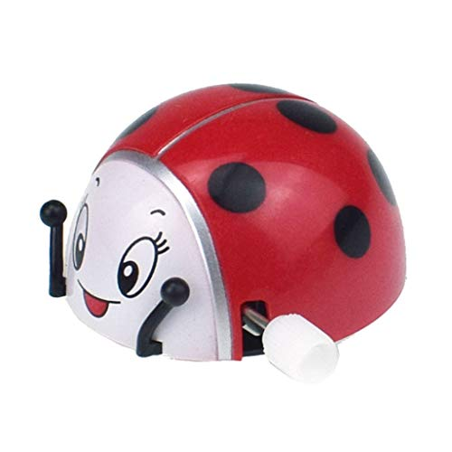 Kdjsic Spring Ladybug Wind Up Voltereta Rotación Juguetes Niños Niños Regalos Divertido...