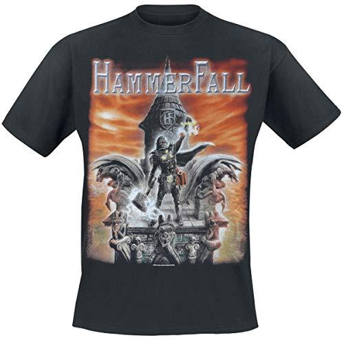 Hammer Fall Built to Last T-Shirt schwarz XL