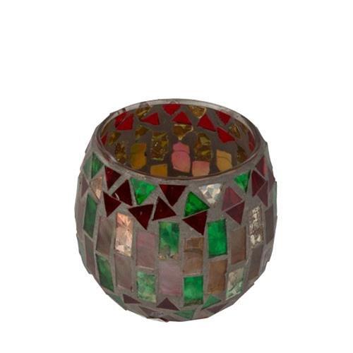 Woodwick Bougie chauffe-plat Motif mosaïque du Maroc
