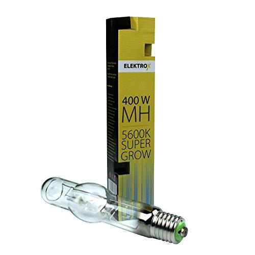 Elektrox 400W Metallhalogendampflampe MH Metal Halide Super Grow