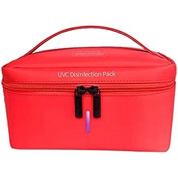 Portable Foldable LED USB UV Light Sanitizer Box With Zipper for Phone Gloves Bottle Makeup Toys Underwear FZAY UV Sterilizer Bag