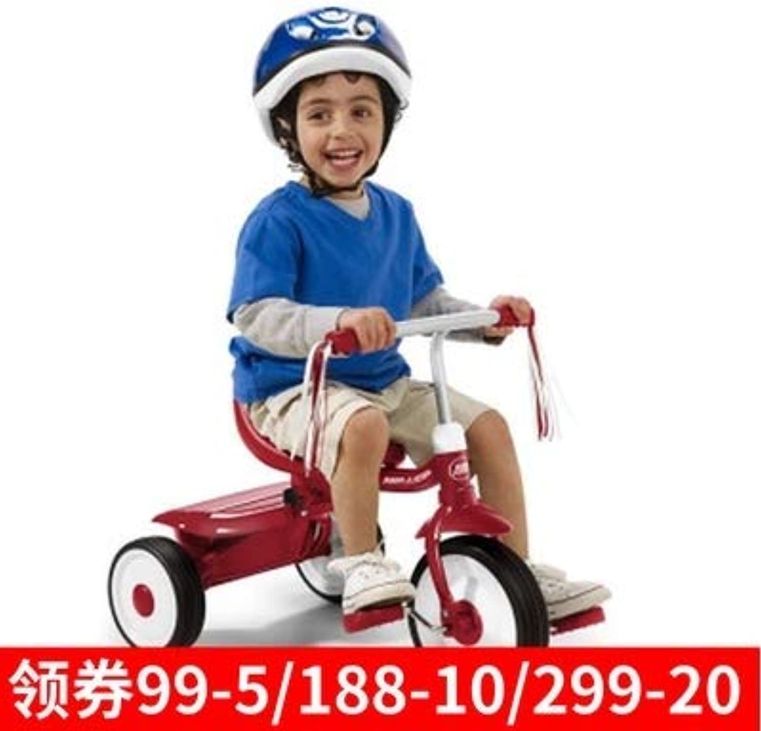 American Radio Flyer Tricycle Bicycle Collapsible Infant Baby Stroller Bicycle Quality Consumer Exposure