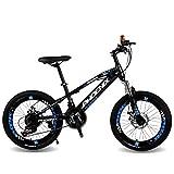 Vélo pour Enfants Vélo De Montagne De Vitesse 20 Pouces Vélo Garçon Vélo De Route Étudiant Vélo pour Le Voyage en Plein Air...