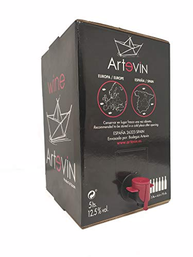 Bag in Box ARTEVIN vino TINTO 5 Litros (5 LITROS)