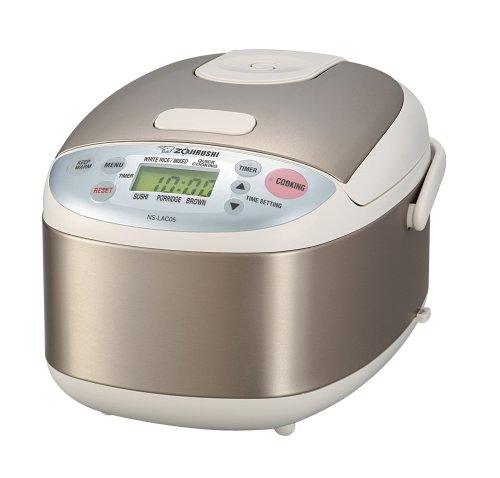 Zojirushi NS-LAC05XA Micom 3-Cup(Uncooked) Rice Cooker and Warmer