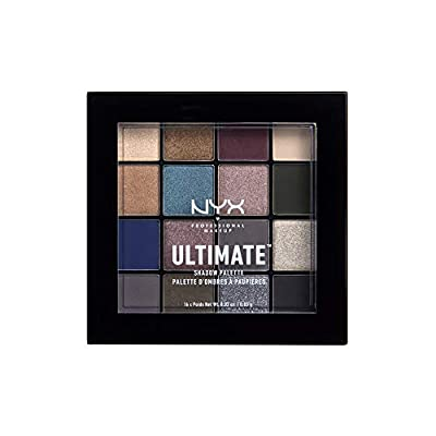 NYX Nyx professional makeup ultimate shadow palette, eyeshadow palette