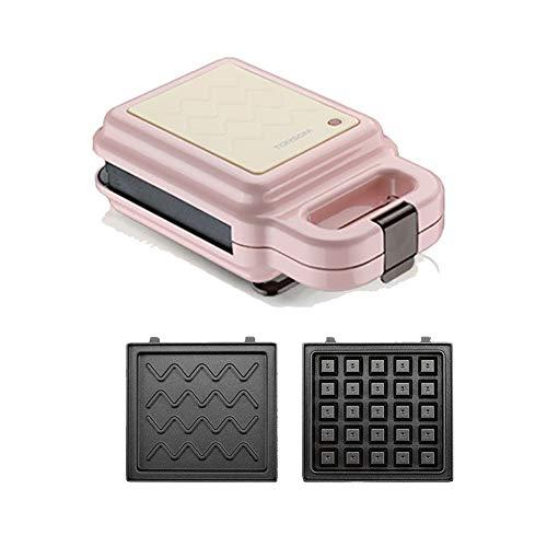 Machines à gaufres et couque Waffle machine, sandwich, biscuits, pommes de terre rissolées Autre On The Go Petit déjeuner, déjeuner, ou des collations, 2 jeux de plateaux de cuisson Gaufrier