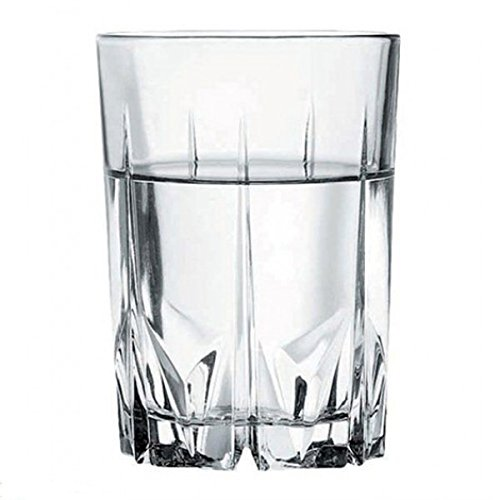 Pasabahce Karat Water Glass Set, 250ml, Set of 6, Clear