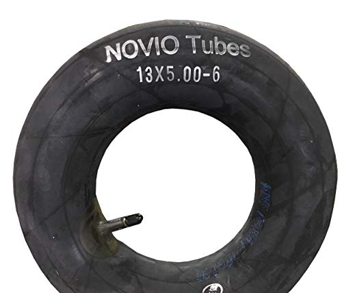 Schlauch 13 x 5.00-6, gerades Ventil, passend für Reifen z.B. Aufsitzmäher Rasenmäher