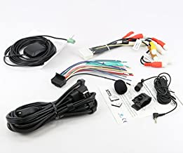 Xtenzi Connection Cable Set Compatible with PioneerAVIC-X920BT AVIC-Z110BT AVIC-Z120BT GPS Mic RCA Wire Harness USB AUX Cable 5 Pcs Set