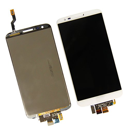 Pantalla táctil digitalizador LCD completa+Touch screen Digitizer Assembly para LG G2 D802 D805 (Blanco)