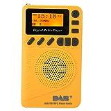 T opiky Radio Dab/Dab + / FM, Dab-P9 Pantalla LCD Portátil Altavoz Reproductor De MP3 Radio Radio Digital Dab/Dab + / FM, Batería Incorporada De 1000 MAh