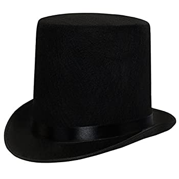 Funny Party Hats Dress up Hats for Adults Costume Party Hats for Men Women Unisex by  Black 7  Top Hat