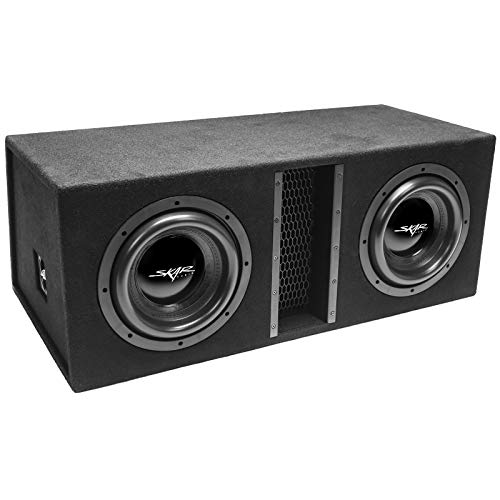 Skar Audio Dual 10' 4000W Loaded EVL Series Vented Subwoofer Enclosure | EVL-2X10D4