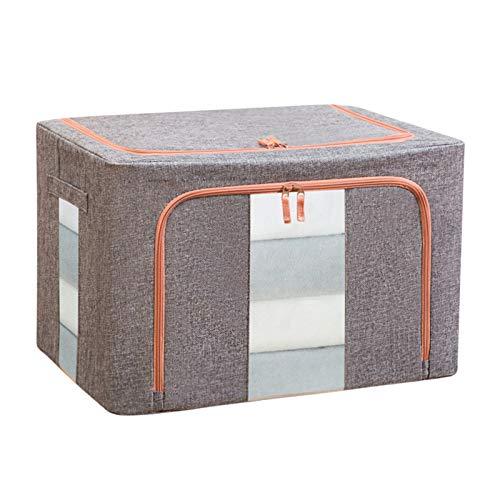 Caja De Almacenamiento De Ropa Interior Plegable Tejido Ropa Caja De Almacenamiento Ahorro De Espacio Cajón De Guardarropa Contenedor De Contenedor Organizador De Cajones(Size:22L:39*29*20CM,Color:A)