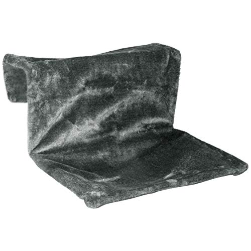 Warenhandel Koning kat radiator ligstoel verwarming hangmat overtrek wasbaar grijs