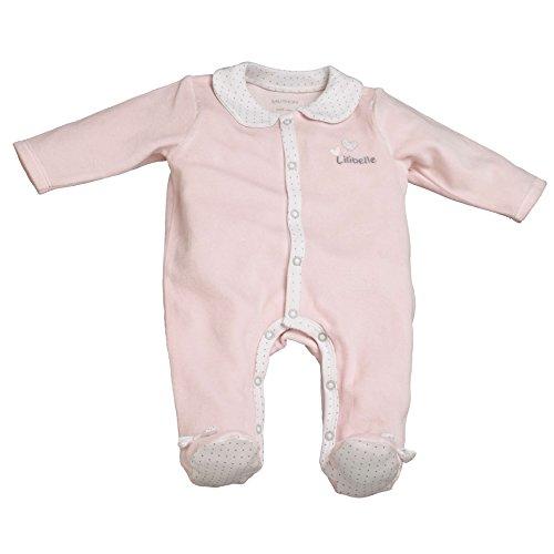 Pyjama bébé rose 3 mois Lilibelle - Sauthon