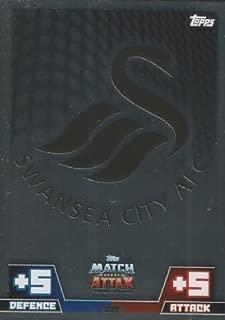 Match Attax 2014/2015 Swansea Club Badge 14/15