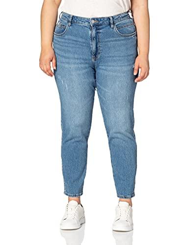 edc by Esprit 041CC1B301 Jeans, 902/BLUE Medium Wash, 32 para Mujer