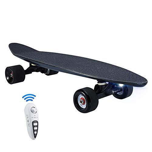 Skateboard Completo Ligero, monopatín eléctrico con Control Remoto para Adultos, batería Samsung...