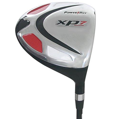 Powerbilt Golf Clubs XP7 Black 10.5 Driver, Graphite Regular Flex Shaft