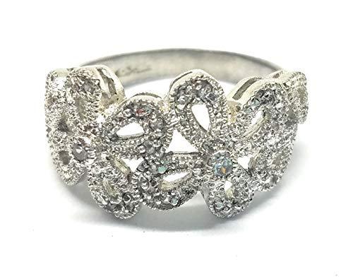 Lia Sophia Abloom Ring Size 7